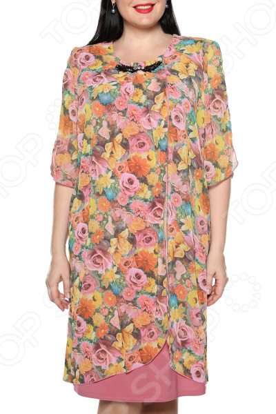 Платье Pretty Woman «Романтика». Цвет: персиковый