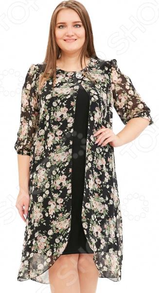 Платье Pretty Woman «Лесная нимфа». Цвет: черный