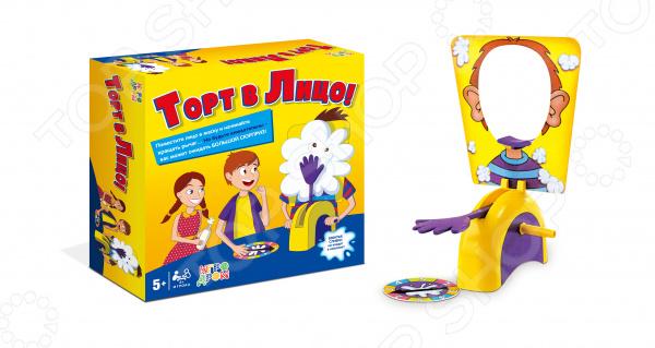 Игра настольная 1 Toy «Торт в лицо»
