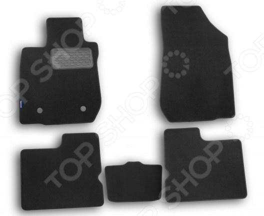 Комплект ковриков в салон автомобиля Novline-Autofamily Renault Logan 2004-2009 / 2010-2014 седан. Цвет: черный комплект ковриков в салон автомобиля novline autofamily renault megane ii 2002 2009