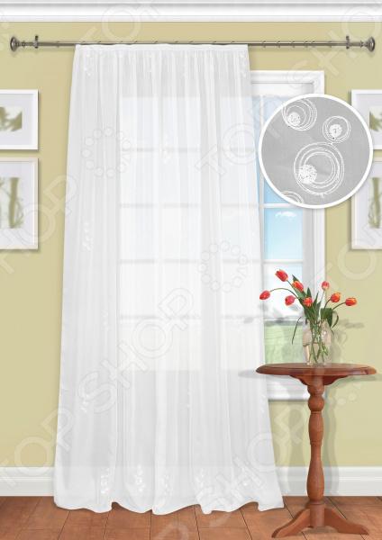 Штора легкая Kauffort Lilac шторы интерьерные kauffort штора provence k на тесьме 136х175