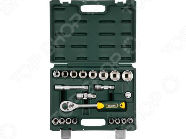Набор торцевых головок Kraftool Expert Qualitat 27882-H22_z02 пистолет kraftool expert qualitat 6583