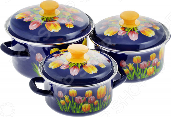 Набор посуды «Майский букет»