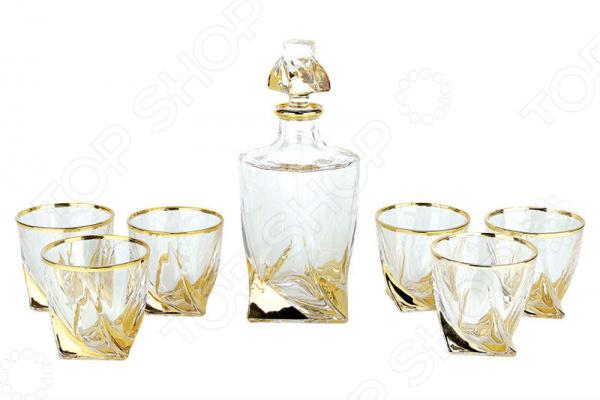 Набор подарочный для виски Коралл «Готика голд» GM13684-7-GP Набор подарочный для виски Коралл «Готика голд» GM13684-7-GP /