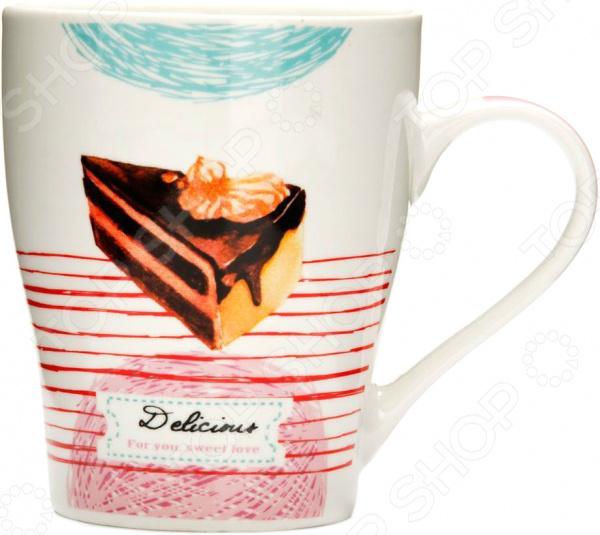Кружка Loraine «Десерт» 26575-2 кружка loraine десерт 340 мл 26588