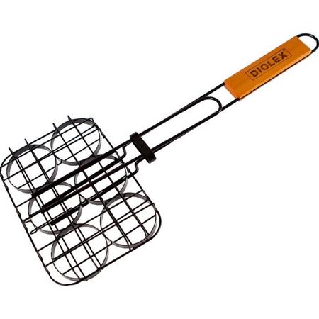 Купить Решетка-гриль Diolex DX-G1911-B