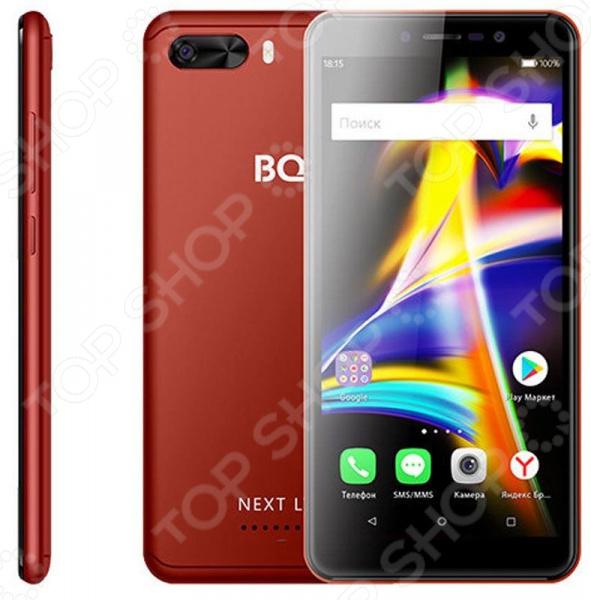 Смартфон BQ 5508L Next LTE 8Gb смартфон fly fs512 nimbus 10 4g lte 8gb black