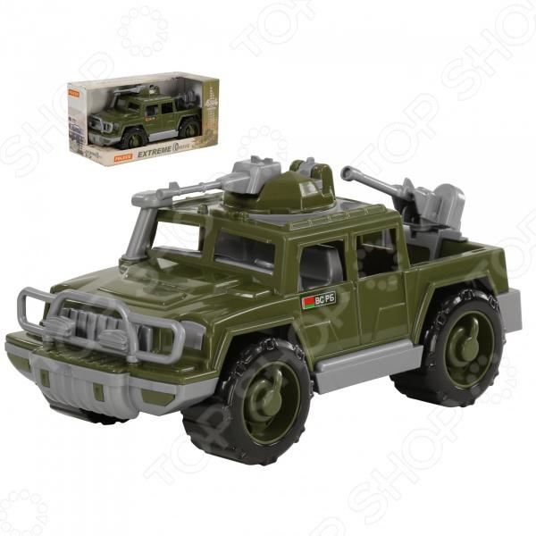 Машинка игрушечная POLESIE «Пикап военный. Защитник» с 2-мя пулемётами polesie смурфетта