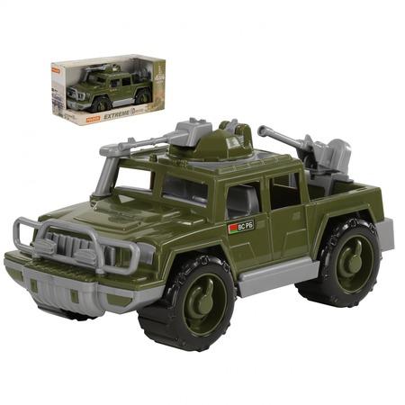 Купить Машинка игрушечная POLESIE «Пикап военный. Защитник» с 2-мя пулемётами