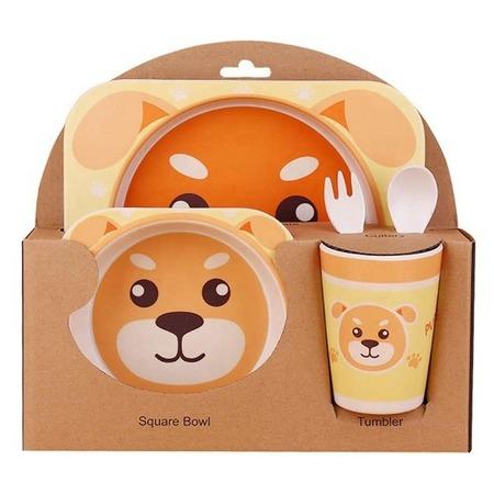 Купить Набор посуды для детей «Медведь»