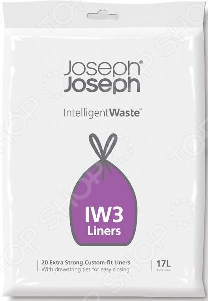 Пакеты для мусора Joseph Joseph IW3 цена и фото