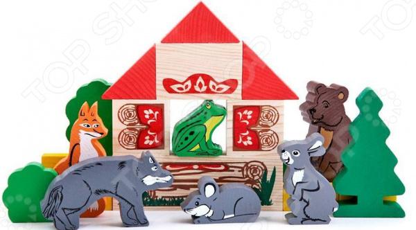 Конструктор для ребенка Томик «Теремок» 22214 игры для малышей корвет удивляйка 4 теремок