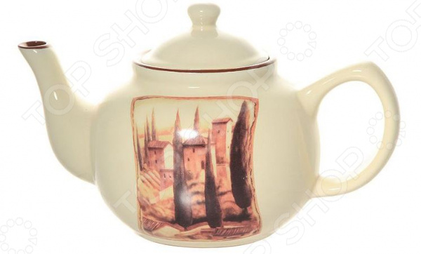 Чайник заварочный Terracotta «Итальянская деревня»