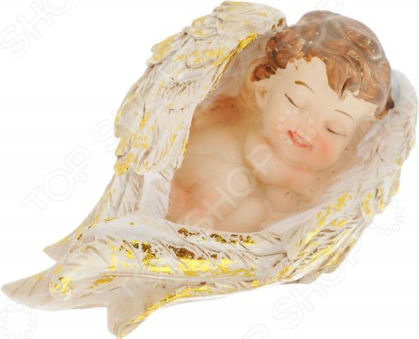 Фигурка декоративная Elan Gallery «Ангелочек спящий» фигурки elan gallery фигурка декоративная белка артистка