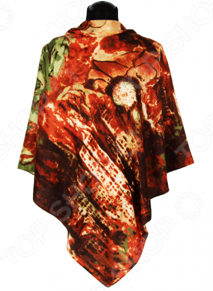 Платок Bona Ventura PL.XXL-SH.Pr.8 недорогой платок на шею для женщин