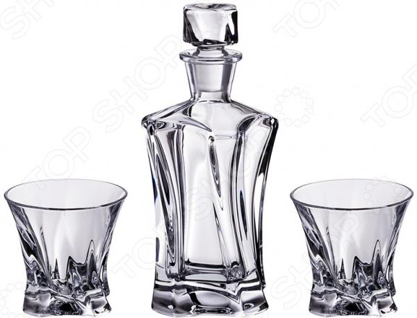 Набор для виски: штоф и стаканы Aurum-crystal Cooper 614-537 булыгин а односолодовая кухня гастрономическая энциклопедия виски