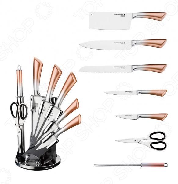 лучшая цена Набор ножей Mercury Haus MC-6152