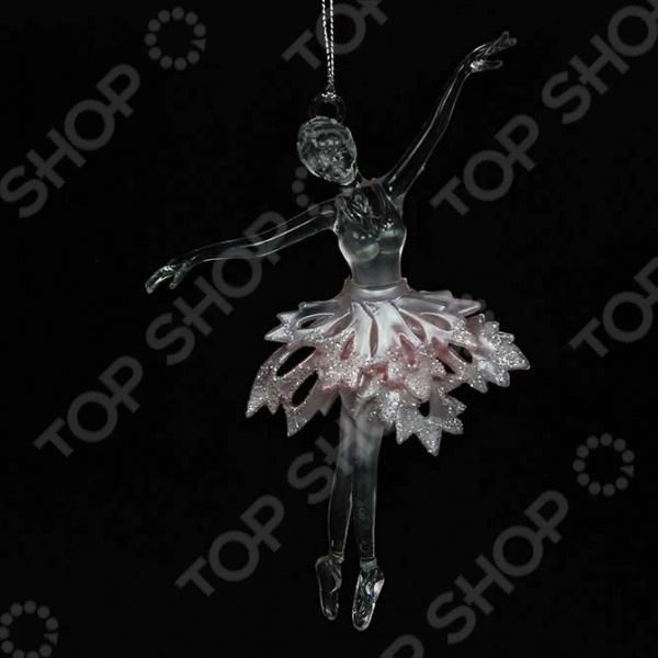 Новогоднее украшение Crystal Deco «Балерина» Новогоднее украшение Crystal Deco «Балерина» /Розовый