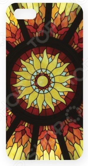 Чехол для IPhone 5 Mitya Veselkov «Солнечный витраж» чехлы для телефонов mitya veselkov чехол для iphone 5 совы на великах