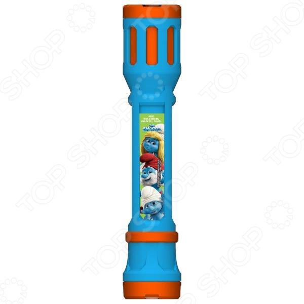 Фонарик-проектор Tech 4 Kids The Smurfs предназначен для таких маленьких, но уже таких любознательных малышей. Как и любым другим фонарем, им можно освещать себе дорогу в темное время суток или искать игрушки под диваном. Также представленная модель оснащена сменными насадками, которые позволяют проецировать изображения любимых героев на любую поверхность. Для того, чтобы ни одна насадка не потерялась, в нижней части изделия имеется специальный накопитель. Если же установить фонарь вертикально, то его можно использовать в качестве настольной лампы. В качестве источников света выступают мощные светодиоды. Не упустите шанс порадовать ребенка замечательным подарком!