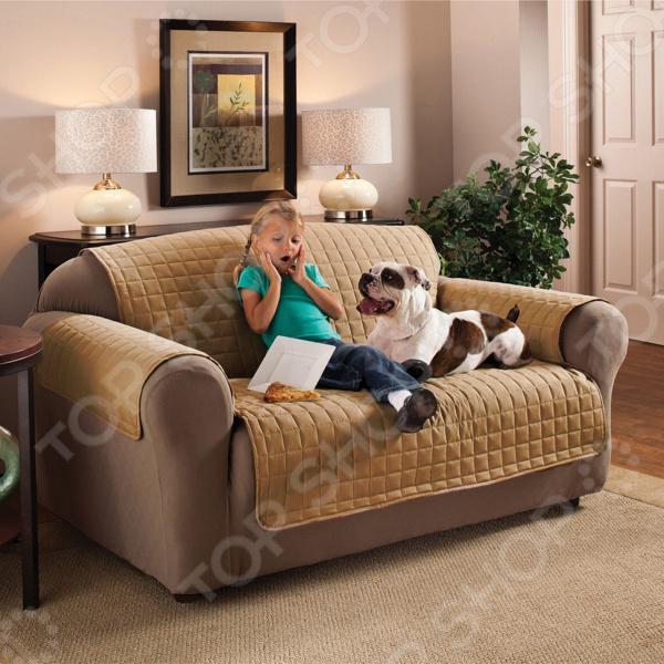 Накидка на двухместный диван Медежда «Йорк»