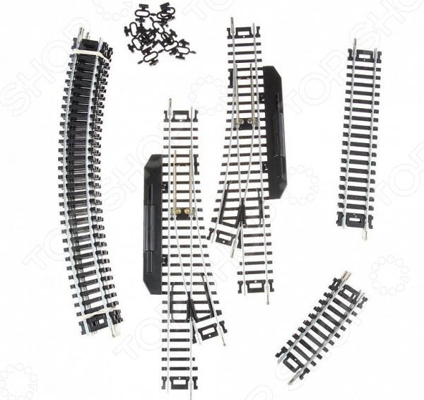 Набор рельс для железной дороги Mehano F101 «Рельсы №1»