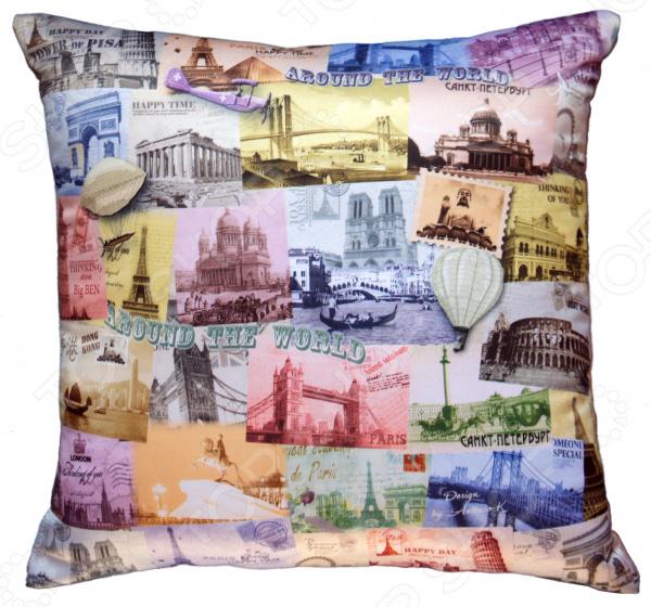 Подушка декоративная Gift'n'Home «Вокруг света»