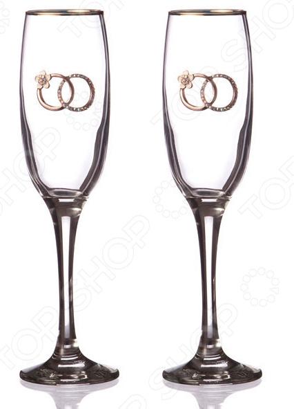 Набор бокалов для шампанского 802-510670 набор бокалов для бренди коралл 40600 q8105 400 анжела