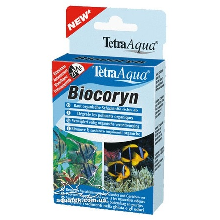 Кондиционер для разложения органики в аквариуме Tetra Agua Biocoryn