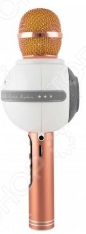 Микрофон для караоке WS878V    /Розовый