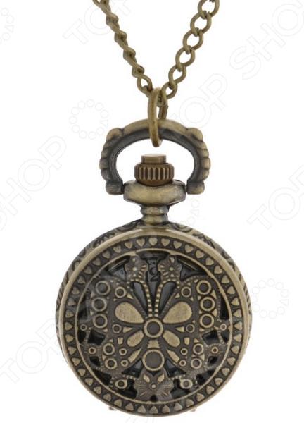 Кулон-часы Mitya Veselkov «Ажурная бабочка»