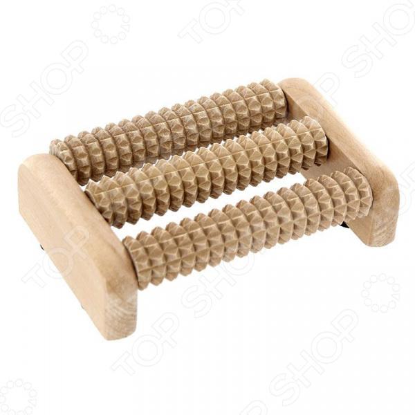Массажер деревянный Банные штучки для ног массажер деревянный банные штучки роликовый для ног