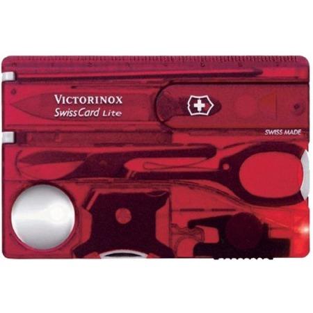 Купить Карта швейцарская Victorinox SwissCard Lite 0.7300.TB1