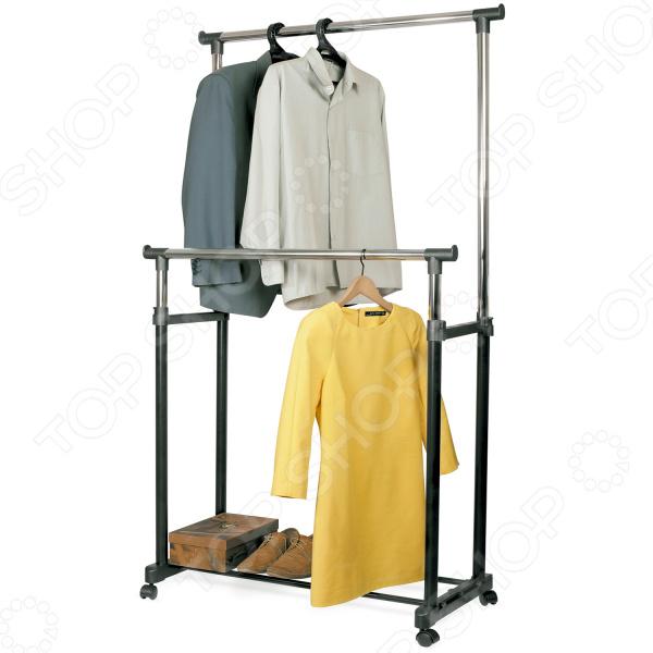 Стойка для одежды Tatkraft Phoenix вешалка для одежды tatkraft karta напольная цвет белый черный высота 173 см