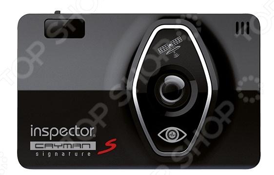 Видеорегистратор с радар-детектором Inspector Cayman S Signature