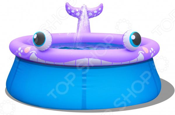 Бассейн надувной Jilong Spray Whale