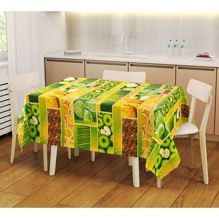 Купить Набор: скатерть и 2 полотенца ТексДизайн «Тропический остров» 1719357