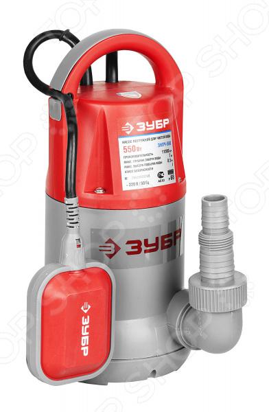 лучшая цена Насос погружной для чистой воды Зубр ЗНПЧ-550