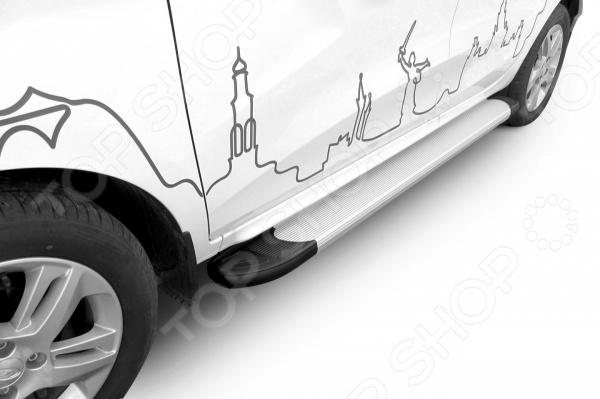 Комплект защиты штатных порогов Arbori Optima Silver 1700 для LADA Xray, 2016 комплект адаптеров атлант 8858