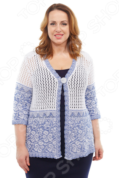 Жакет LORICCI «Парма». Цвет: белый, джинсовый снуды loricci снуд