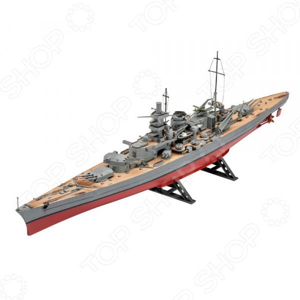 Сборная модель линкора Revell «Шарнхорст. ВМС Германии времен Второй мировой войны»