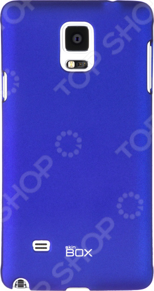 Чехол защитный skinBOX Samsung Galaxy Note 4 skinbox 4people чехол для samsung galaxy note 5