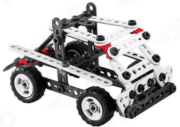 Игровой конструктор Meccano Быстроходный катер прекрасный подарок для юного конструктора! Игровой набор не только обучает и развлекает, но и помогает развивать мелкую моторику рук, логическое мышление и воображение ребенка. Комплект содержит детали и инструменты гаечный ключ и отвертка , с помощью которых можно собрать оригинальную модель для игры. Из этих деталей можно создать несколько видов транспорта. Все детали выполнены из нетоксичных полимерных материалов, поэтому полностью безопасны для ребенка.
