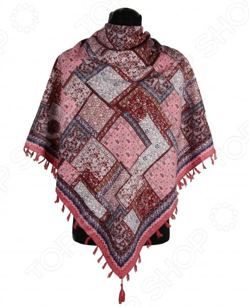 Платок Bona Ventura PL.XL-H.Pr.9 недорогой платок на шею для женщин