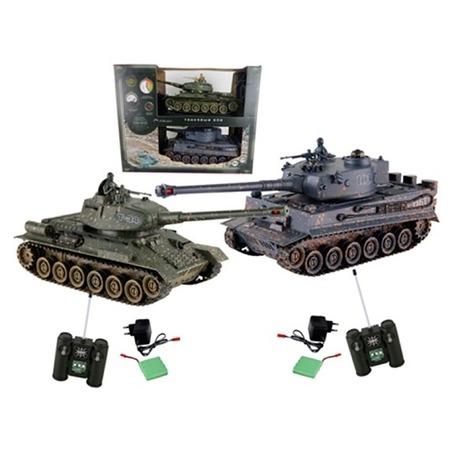 Купить Набор на радиоуправлении Yako «Танковый бой. Т34 против Тигра» 6125