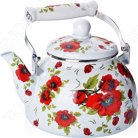 Чайник эмалированный Mayer&Boch «Розы»