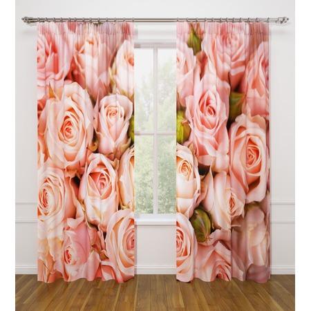 Купить Фотошторы Стильный дом «Розовые розы»