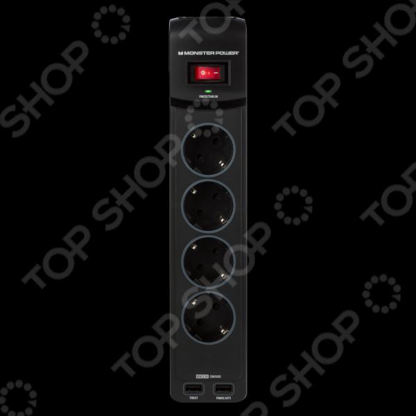 Фильтр сетевой MONSTER Core Power 400 USB