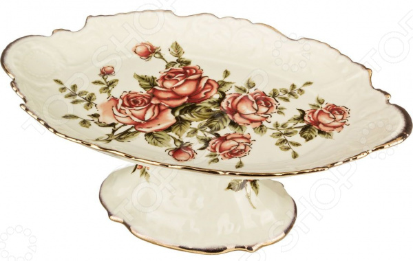 Фруктовница на ножке Lefard «Корейская роза» 215-024 полотенце для кухни арти м корейская роза