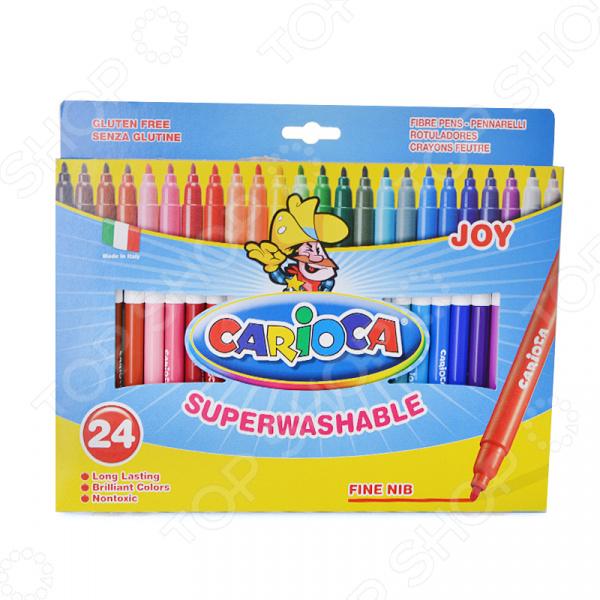 Набор фломастеров Universal Carioca Joy 40615 фломастеры carioca joy 18 цветов в блистере